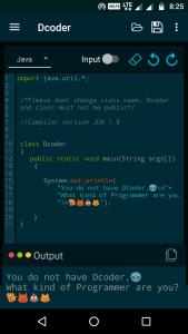 Dcoder codemojis